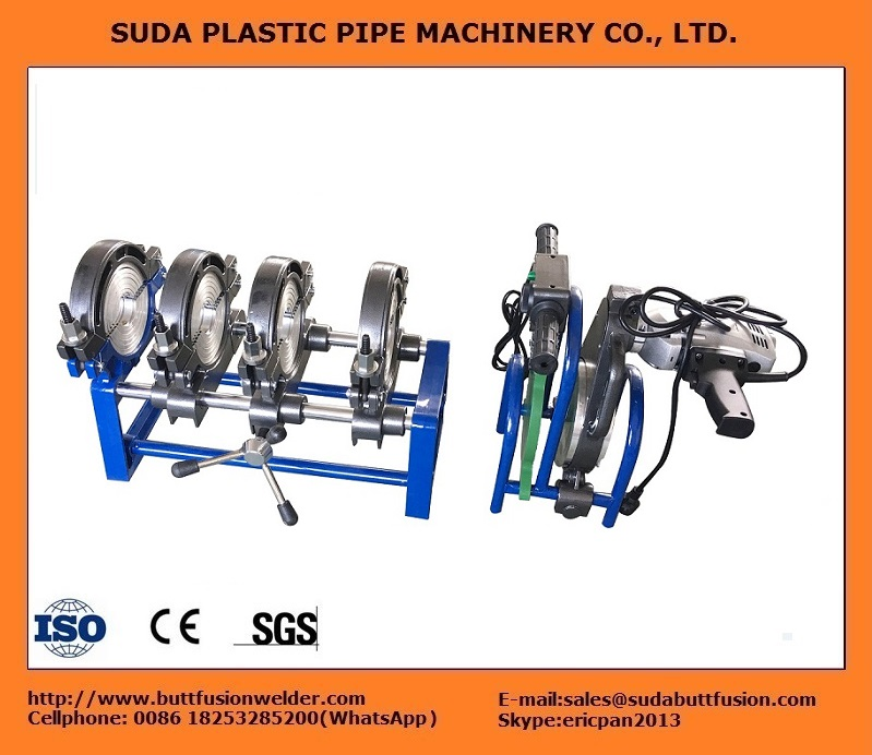 50/200 Máquina de fusión a tope (4 abrazaderas)