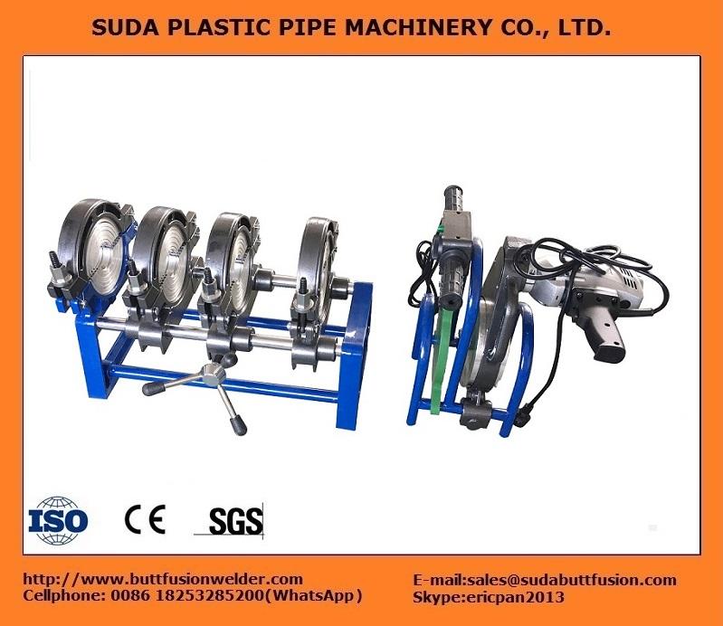 40/160 Máquina de electrofusión (4 abrazaderas)