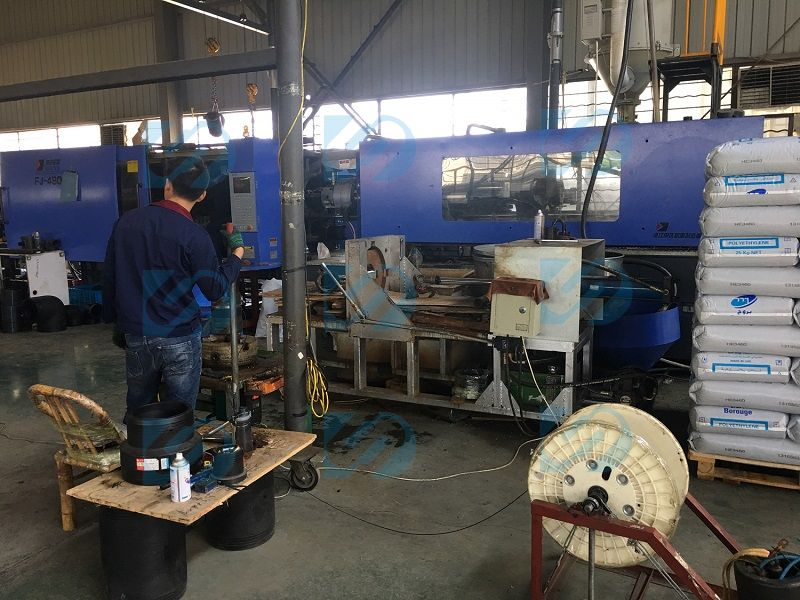 HDPE butt fusion welding machine Factory Show