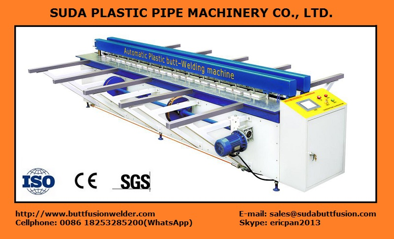 DH3000 CNC Plastic Sheet Butt-welding Machine