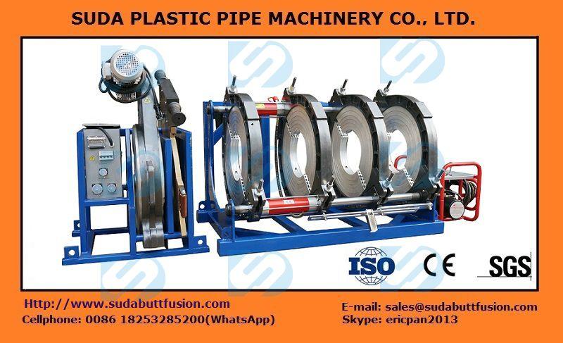 SUD280-500 Máquina hidráulica de tuberías Fusión