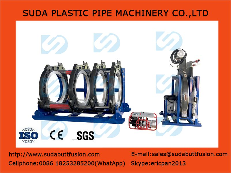 SUD200-400 Máquina hidráulica de tuberías Fusión