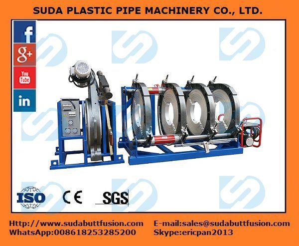 Máquina Hidráulica de Termofusión  SUD250-450