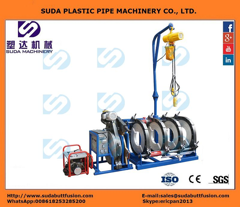 Máquina Hidráulica de Termofusión SUD200-400