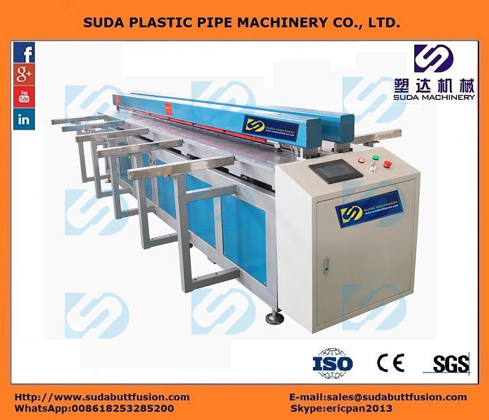 DH2000 CNC Plastic Sheet Butt-welding Machine