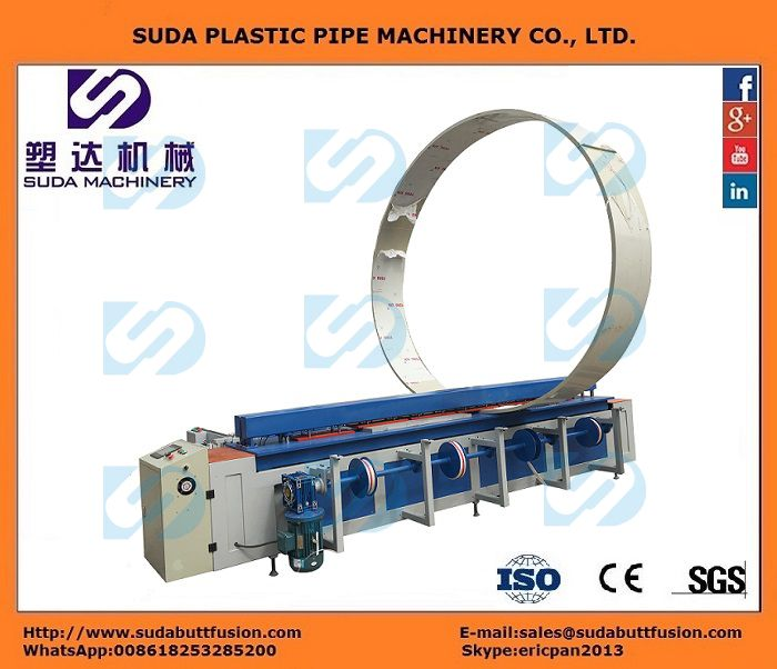 DH6000 CNC Plastic Sheet Butt-welding Machine