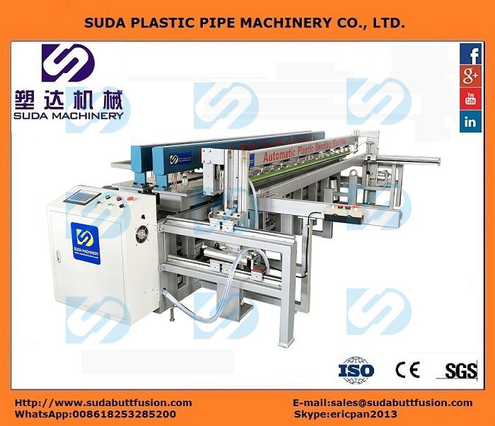 DZ3000 CNC Plastic Sheet Butt-welding, Rolling and Bending Machine