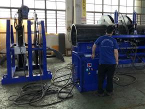 CNC Automatic In-Ditch Butt Fusion Machine SUD-I 54