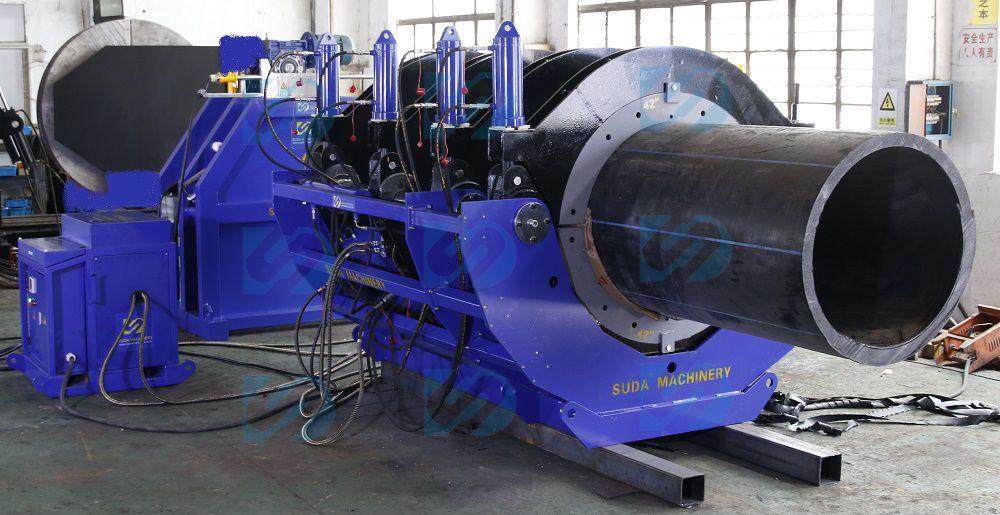 HDPE butt fusion welding machine Factory Show