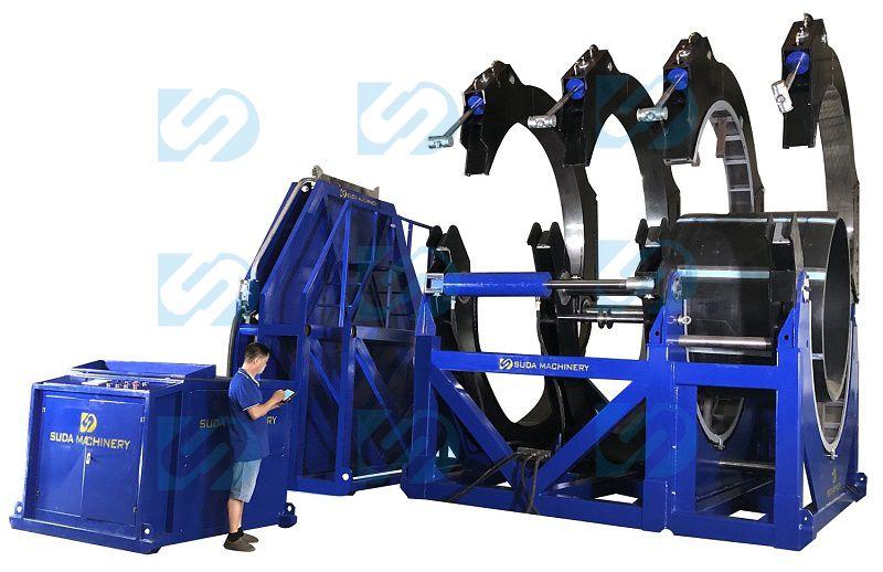 SUD3000 CNC Automatic High Pressure Butt Fusion Welding Machine