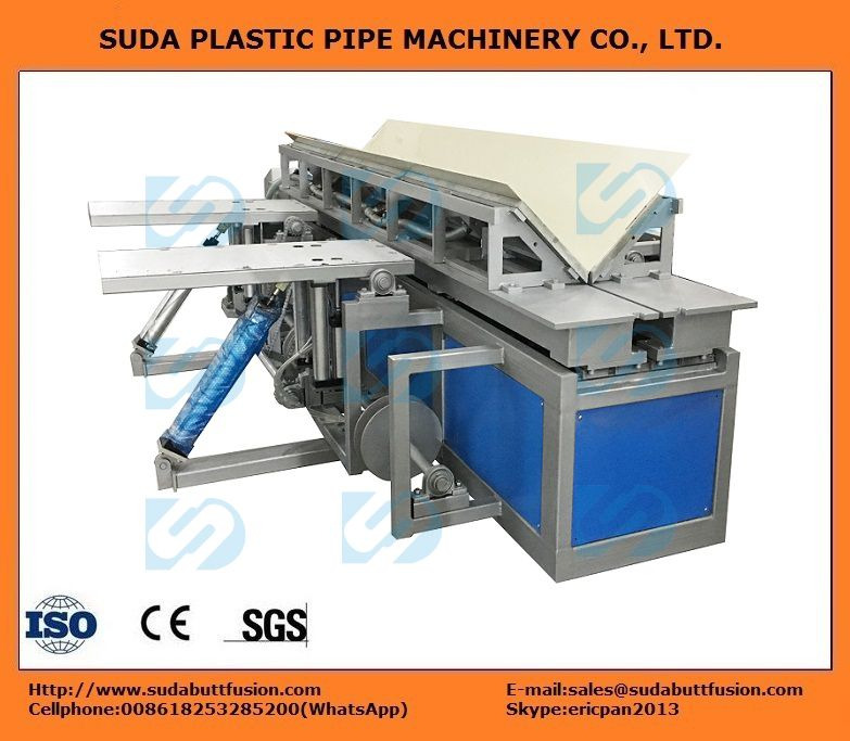 DHB3000 Plastic Sheet  Vertical Welding(90° degree) and Rolling Machine
